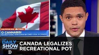 Canada Legalizes Marijuana & Slavery Ban Goes on Colorado's Ballot | The Daily Show