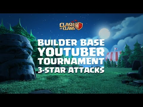 COC Builder Base Tournament 3-Star Attacks ft. Chief Pat, iTzu, BrunoPH | Clash of Clans