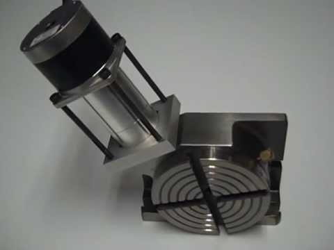 Qtul CNC 4th Axis Rotary Table (100mm / 4 inch)