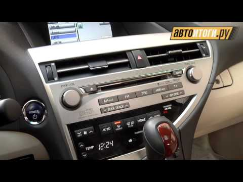Lexus RX 450h, тест-драйв