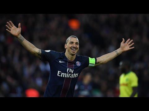 Le dernier match de Zlatan Ibrahimovic au Parc des Princes (PSG 4-0 Nantes)