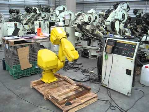 Fanuc industrial robot Arcmate 100i with RJ controller – part 1