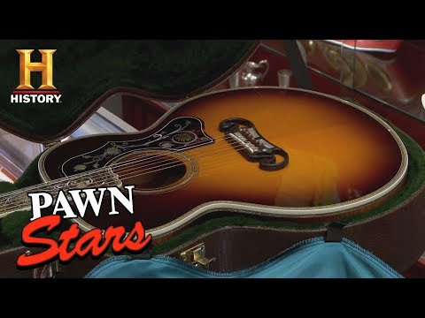 Pawn Stars: Gibson Master Museum Acoustic Guitar (Season 9)   History
