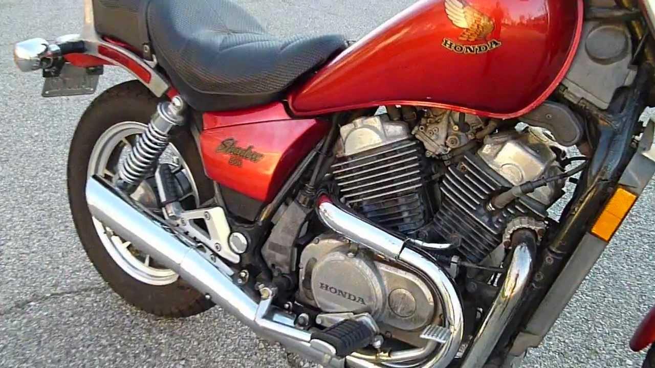1985 Honda VT Shadow 500 - YouTube