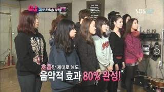 KPOPSTAR ep9. JYP First Training