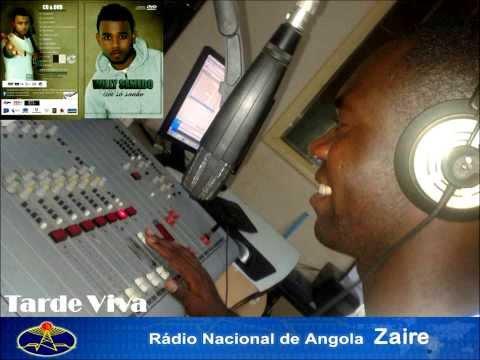 Willy Semedo no Tarde Viva, Nacional Radio de Angola Zaire apresentado pela Afonso Mpalu Voz Máxima