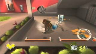 Rabbids Go Home (Wii) First 30 Minutes - Part 3: In The Nick of Time