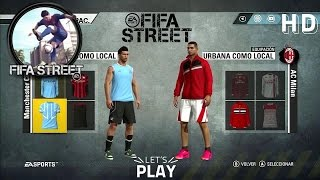 FIFA Street Gameplay - M.City - AC Milan - Adidas All Stars - Street Swirl - Fifaallstars.com