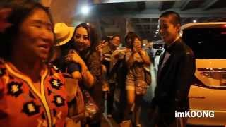 [fancam 2] AOMIKE @ come back from MYANMAR (2015.11.14)