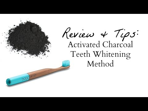 How to Make: Activated Charcoal Teeth Whitening Powder Review & Tips (All Natural Stain Remedy)
