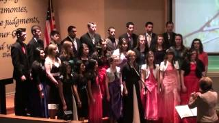 Northwest Baptist Academy Concert Choir: The Sweetest Song I Know