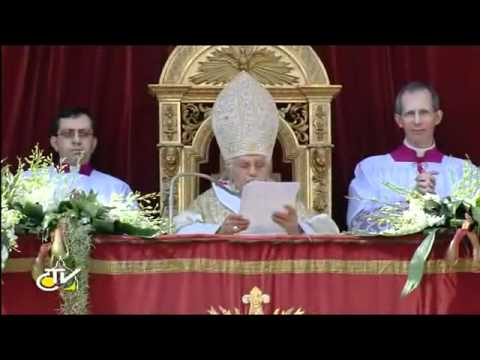 POPE'S EASTER MESSAGE 2012:  Greet FILIPINOS