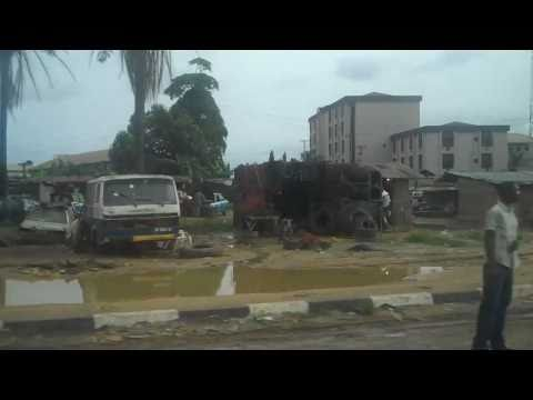 Drive from Port Harcourt Airport to Umuahia in Nigeria