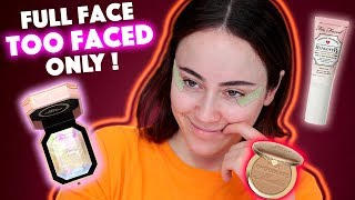 Full Face using only TOO FACED 🔥 | too faced Makeup First Impression | Hatice Schmidt