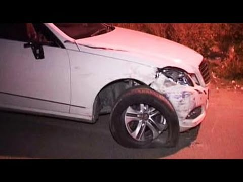 Mercedes runs over Faridabad girl