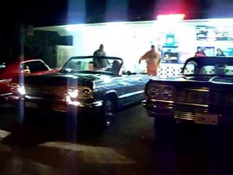 Lowriders Cruising from Richmond to Pinole 12/21/14