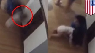 9-year-old boy heroically catches baby brother falling from diaper changing table - TomoNews