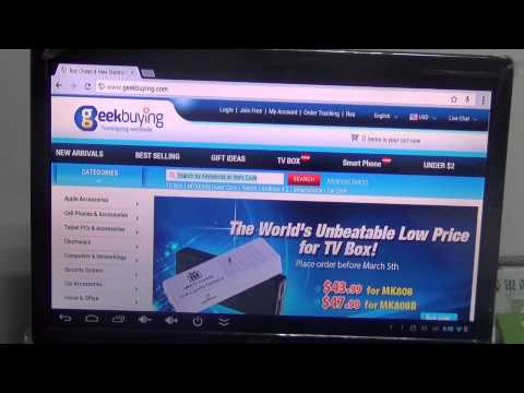 Tronsmart T428 Android 4.2 Jelly Bean Quad Core TV BOX/Mini PC Review