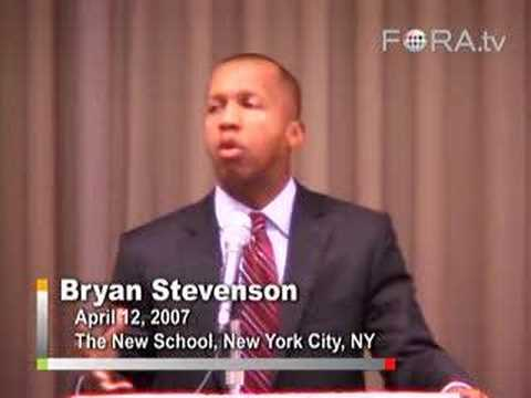 Bryan Stevenson - Racism and the Death Penalty