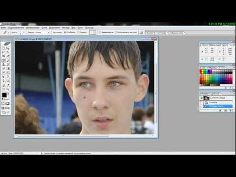 Видиоурок работы с Adobe Photoshop CS8.0!