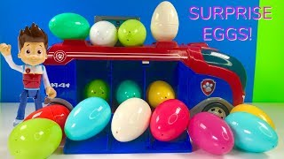 Fun Colors with Paw Patrol Mission Surprise Eggs   for Kids & Children