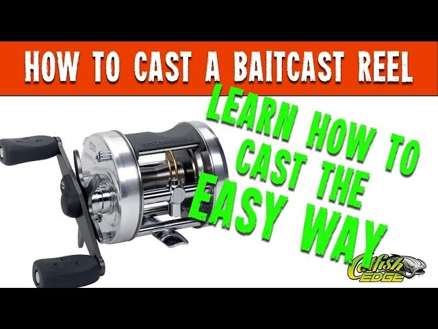 *How To Cast* Casting Baitcast Reel For Fishing - *Learn To Cast* From Catfishing TV