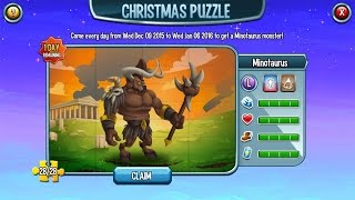 Legendary Level 100 Minotaurus Christmas Puzzle Reward