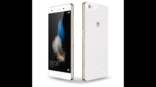 Huawei P8 lite (White) Unboxing [English]