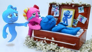 Tiny's Mournful Funeral - Funny Moment Stop Motion Animation Cartoons