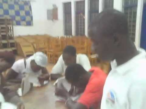 Literacy class at Nima Maamobi Gale Community Library, Accra