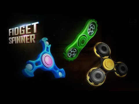 Fidget Spinner 3D Free Game APK Cover