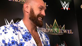 Tyson Fury not taking WWE opportunity for granted: WWE Exclusive, Oct. 11, 2019