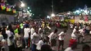 Haiti Kanaval Rollerblading In Haiti