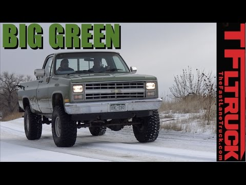 We Bought a 1985 Chevy K10 and It's Big. Green & Bad Ass - Big Green Ep.1