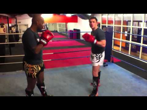 Muay Thai Techniques - Catch and Takedown Image 1
