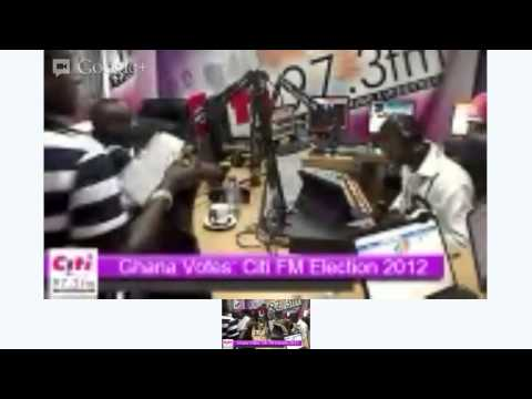 Ghana Votes: Citi FM coverage of Election 2012