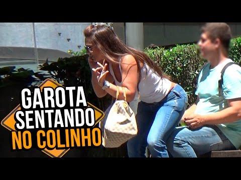 PEGADINHA: GAROTA SENTANDO NO COLINHO - Stupidshow