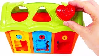 Learn Colors with Shape and Lock Barn Playset for Children | Learn with Yippee Toys