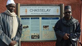 Cherif Mamy Aïdara et Tafsir Abdourahmane Gaye au Tata sénégalais de Chasselay