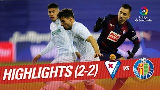 Highlights SD Eibar vs Getafe CF (2-2)