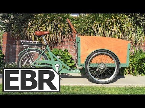 Virtue Cycles Schoolbus+ Video Review - Electric Cargo Trike for Kid Hauling