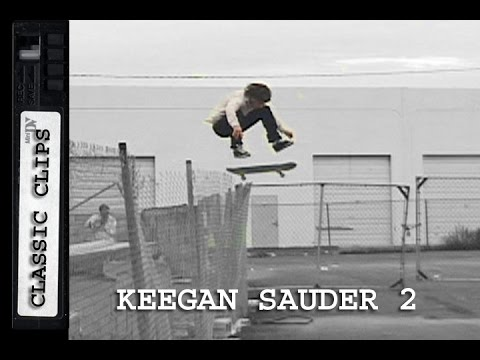 Keegan Sauder Skateboarding Classic Clips #192