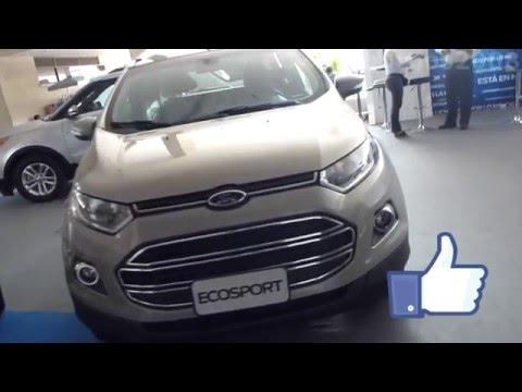 Ford EcoSport Titanium 2014 video versión Colombia