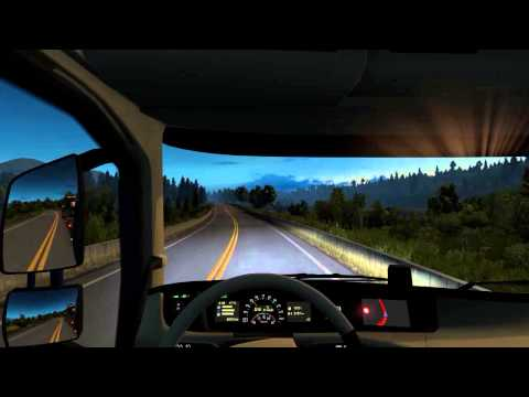 EuroTruck Simulator Scandinavia Bergen to Stockholm with a Volvo FH Globetrotter XL 750hp