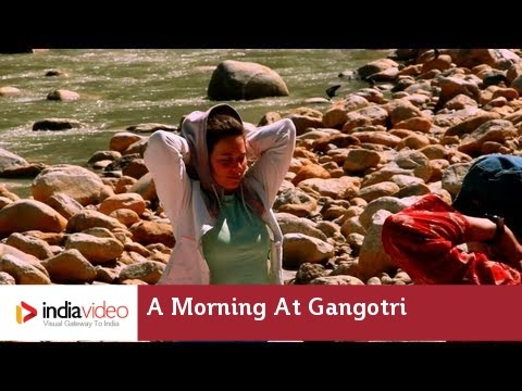 A tranquil morning at Gangotri
