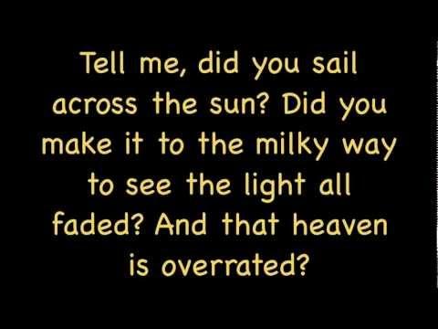 Drops Of Jupiter Lyrics