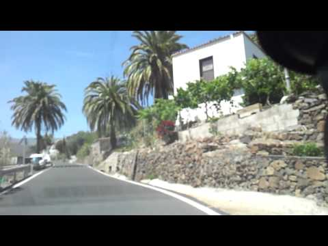 Gran Canaria, Spain - drive over the mountains - Fataga, San Bartolome de Tirajana, Telde
