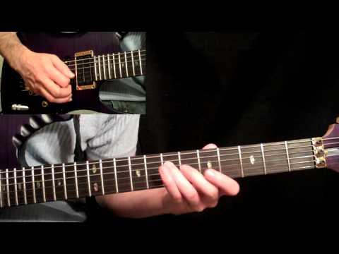 Steve Vai - Eugene's Trick Bag Guitar Lesson Pt.1 - Arpeggio Section