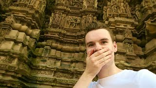 EROTIC TEMPLES OF KHAJURAHO & INDIAN VILLAGE TOUR 🇮🇳