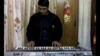 Indian Bhajan (Hay Nam Re) played by Balwinder with Roland GW-7 keyboard.mp4